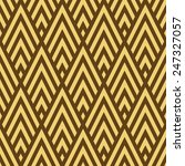 seamless brown and gold rhombic ...   Shutterstock .eps vector #247327057