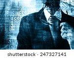 businessman abstract background   Shutterstock . vector #247327141