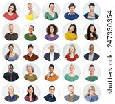 diverse people multi ethnic... | Shutterstock . vector #247330354