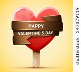 happy valentine's day... | Shutterstock .eps vector #247379119