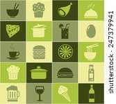 food icons set great for any... | Shutterstock .eps vector #247379941