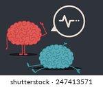 dead brain  murder... | Shutterstock .eps vector #247413571