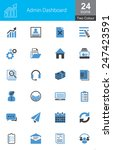 these icons are designed... | Shutterstock .eps vector #247423591