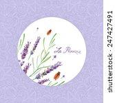 vector watercolor lavender. it...   Shutterstock .eps vector #247427491