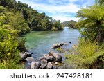 Small photo of Abel Tasman natural park, South island, New Zealand