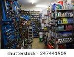 full store room at the repair... | Shutterstock . vector #247441909