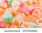 Turkish Delight Sweets With...