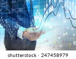 social network concept.data... | Shutterstock . vector #247458979