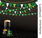 Saint Patricks Day Dark Beer...