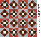seamless geometric pattern... | Shutterstock .eps vector #247532275
