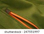 soft shell fleece jacket zipper ... | Shutterstock . vector #247551997