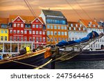 Copenhagen  Denmark. Yacht And...