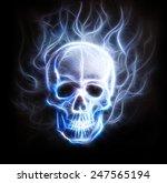 Skull Fractal Ornament...
