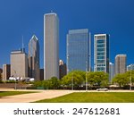 Chicago Skyline Of Downtown...