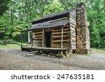 Pioneer Cabin. Settlers Cabin...