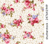 pattern of rose  | Shutterstock .eps vector #247641949