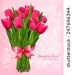 valentine's holiday background...   Shutterstock .eps vector #247646344