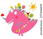 dinosaur friends | Shutterstock .eps vector #247646839