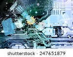connection technology... | Shutterstock . vector #247651879