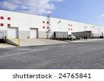 exterior view of unloading... | Shutterstock . vector #24765841