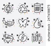 ecology infographic | Shutterstock . vector #247658875