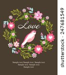 love card | Shutterstock .eps vector #247681549