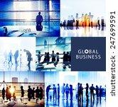 global business people... | Shutterstock . vector #247699591