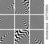 Set Of Textures In Zebra...