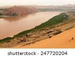 yellow river  huang he   ... | Shutterstock . vector #247720204