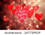 happy valentines day against... | Shutterstock . vector #247739929