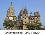 imposing stone towers of...   Shutterstock . vector #24774820