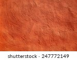Red Concrete As A Background