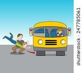 an image of the metaphor of... | Shutterstock .eps vector #247785061