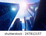 manhattan new york city sixth... | Shutterstock . vector #247812157
