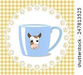 cup of milk   Shutterstock .eps vector #247813525