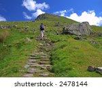 Climbing Helvellyn In Summer