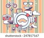 vector illustration of... | Shutterstock .eps vector #247817167