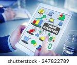 online marketing business... | Shutterstock . vector #247822789