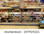 london   jan 28  shelf aisle... | Shutterstock . vector #247925221