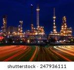 beautiful lighting of oil... | Shutterstock . vector #247936111