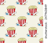 seamless vector pattern with... | Shutterstock .eps vector #247963849
