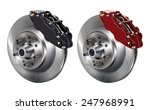 car braking system | Shutterstock .eps vector #247968991