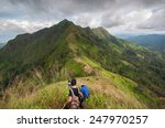 green mountain  khao chang puak ... | Shutterstock . vector #247970257