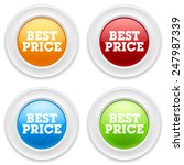 colorful round buttons with... | Shutterstock .eps vector #247987339