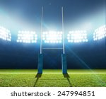 a soccer stadium with a marked... | Shutterstock . vector #247994851