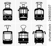 trams | Shutterstock .eps vector #248000107