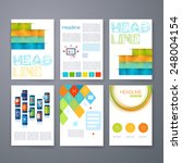 templates. set of web  mail ... | Shutterstock .eps vector #248004154