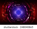 abstract fractal multicolored... | Shutterstock . vector #248040865