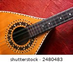 Photo Of A Acoustic Mandolin...
