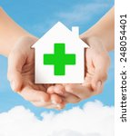 care  help  charity and people... | Shutterstock . vector #248054401
